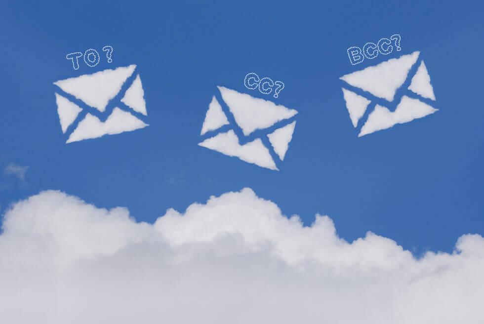メール送信先の「TO」「CC」「BCC」の違い